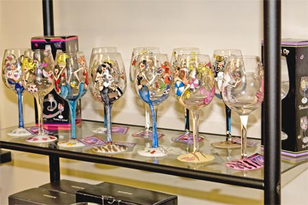 Retail Products - Wine Glasses